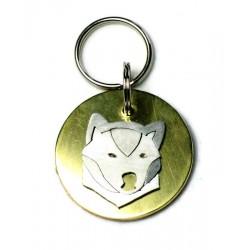 Shiba Inu Pet ID Tag