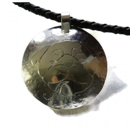 Ibizan Hound sterling silver pendant